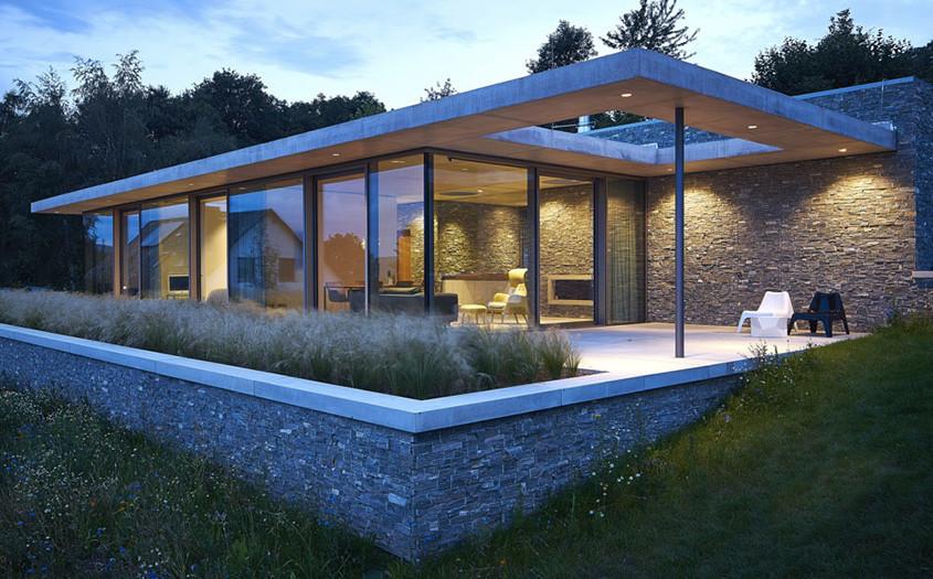 Naturstein aus der Region von Architekten bevorzugt