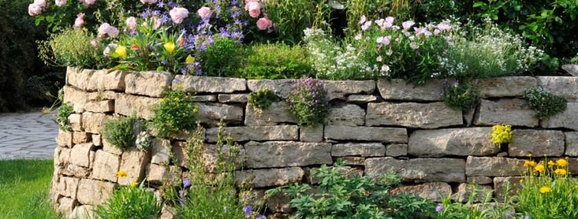 So alt wie die Menschheit: Mauern aus Naturstein